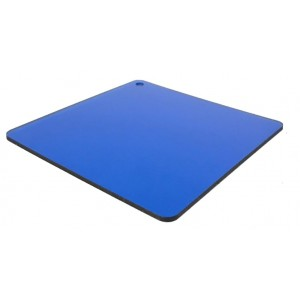 Монолитный поликарбонат (синий)