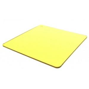 Монолитный поликарбонат (желтый)