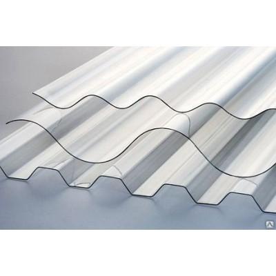 Монолитный профилированный поликарбонат 0,8 мм прозрачный